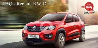 Renault Kwid FAQ