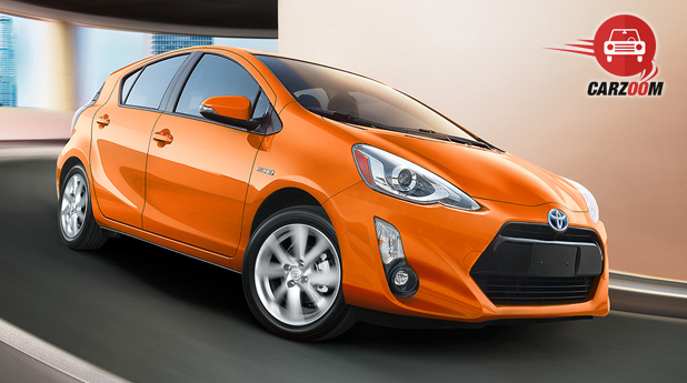 Toyota Prius C Exterior Front and Side View