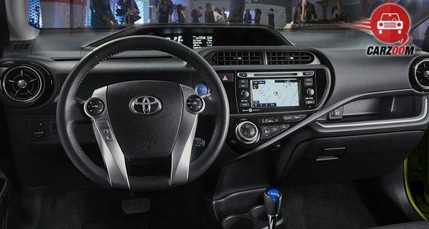 Toyota Prius C Interior Dashboard View
