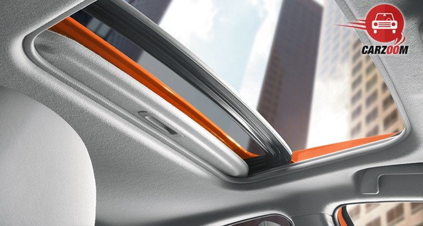 Toyota Prius C Roof View