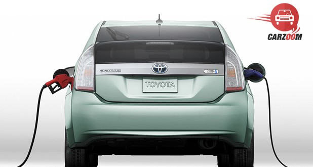 Toyota Prius Plug-In Hybrid Back View