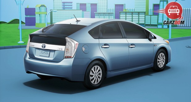Toyota Prius Plug-In Hybrid Back and Side View