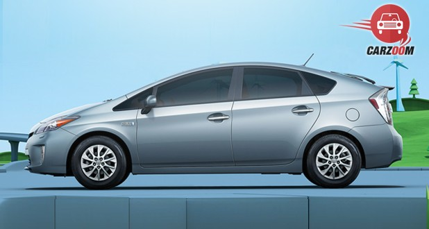 Toyota Prius Plug-In Hybrid Exterior Side View