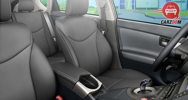 Toyota Prius Plug-In Hybrid Interior Seat View