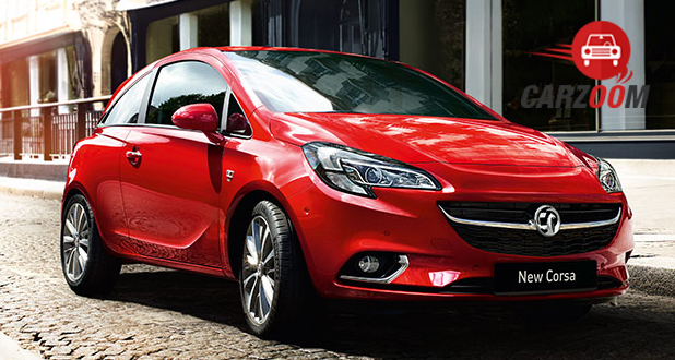 Vauxhall Corsa Front View