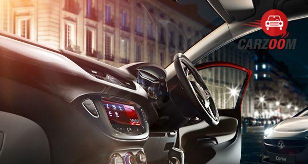 Vauxhall Corsa Interior View
