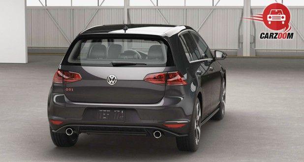 Volkswagen GTI Exterior Back View