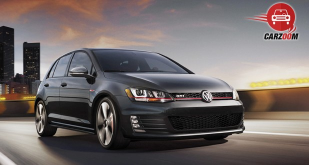 Volkswagen GTI Exterior Front and Side View