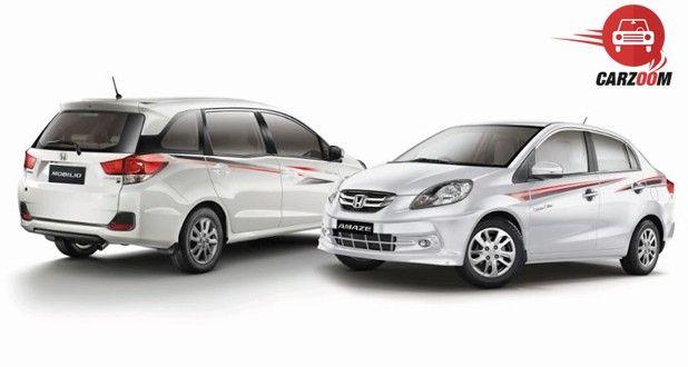 Honda Amaze and Mobilio Celebration Editions