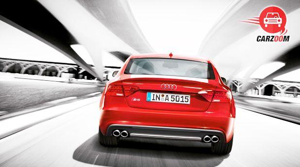 Audi S5 Sportback Back View