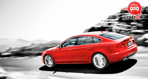 Audi S5 Sportback Back and Side View