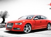 Audi S5 Sportback Front and Side View