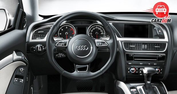Audi S5 Sportback Interior Dashboard View
