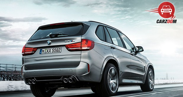 BMW X5 M Exterior Back view