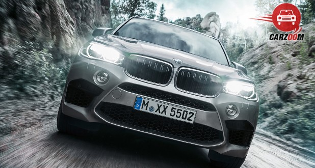 BMW X5 M Front View