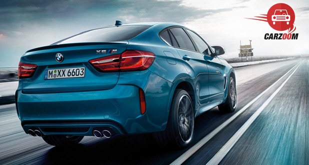 BMW X6 M Exterior Back View