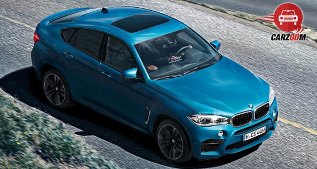 BMW X6 M Exterior Top View