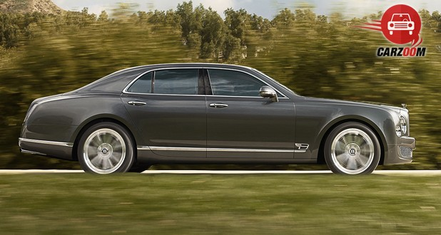 Bentley Mulsanne Exterior Side View