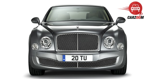 Bentley Mulsanne Front View