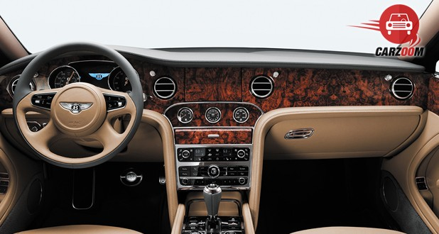 Bentley Mulsanne Interior Dashboard View