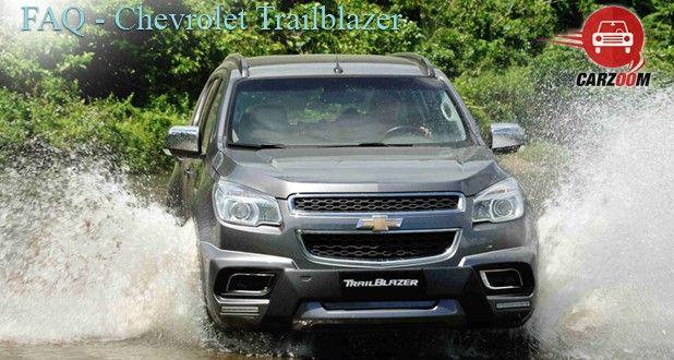 Chevrolet Trailblazer FAQ