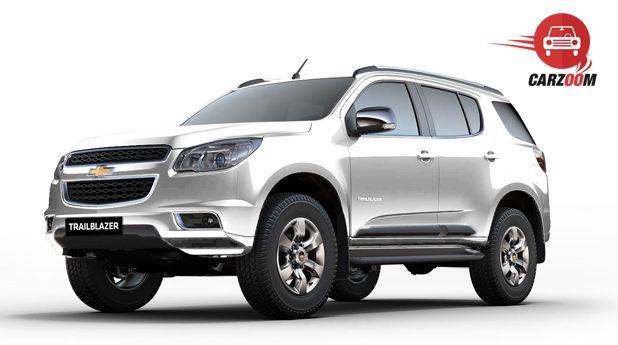 Chevrolet Launches Trailblazer In India Prices News Photos