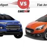 Comparison of Fiat Avventura vs Ford EcoSport