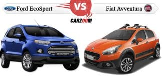 Comparison of Fiat Avventura vs Ford EcoSport