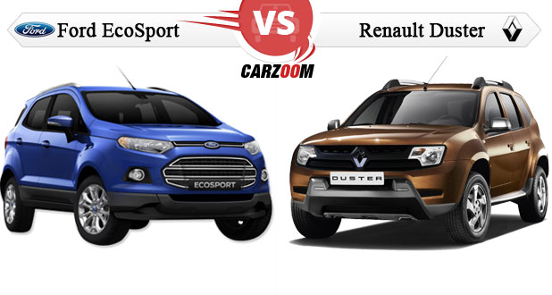 Comparison of Ford EcoSport vs Renault Duster