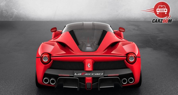 Ferrari LaFerrari Back View