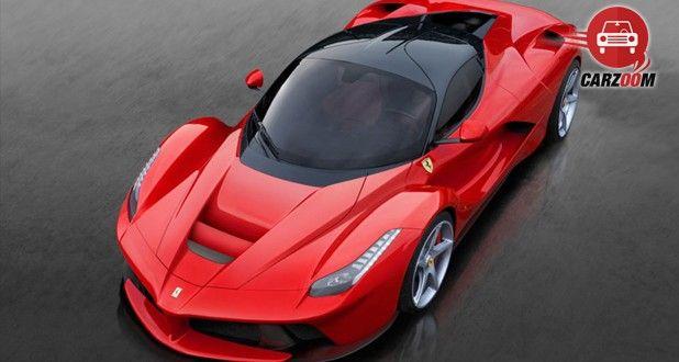 Ferrari LaFerrari Exterior Top View