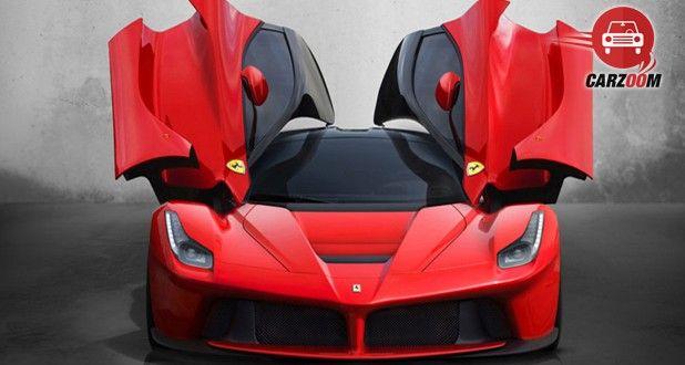 Ferrari LaFerrari Front Open Door View