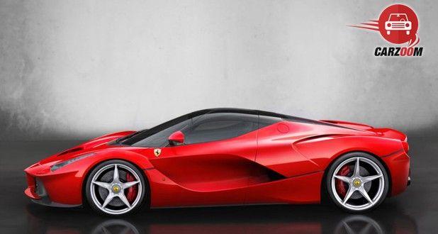 Ferrari LaFerrari Side view