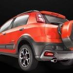 Fiat Abarth Avventura Exterior Back View