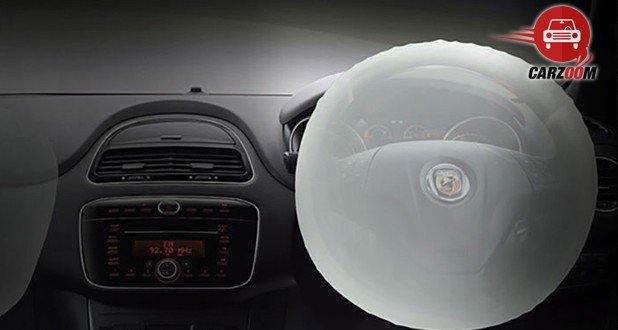 Fiat Abarth Punto Interior View With Airbag