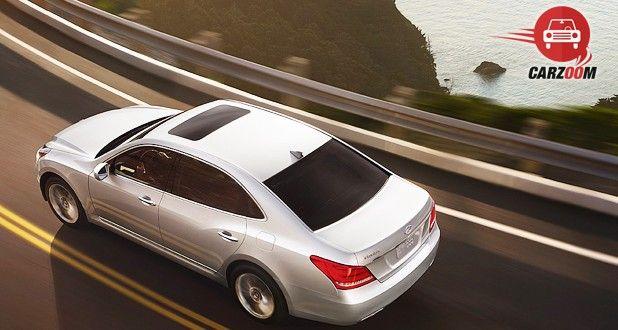 Hyundai Equus Exterior Top View