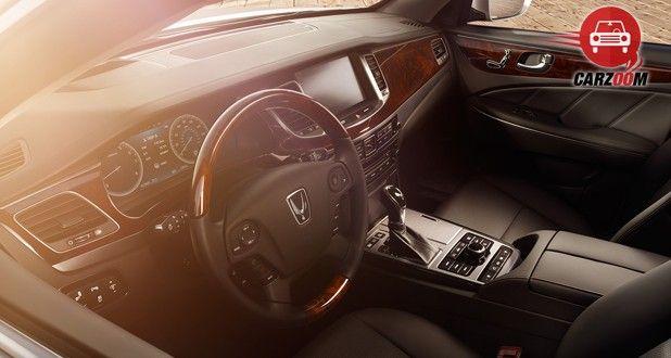 Hyundai Equus Interior Dashboard View