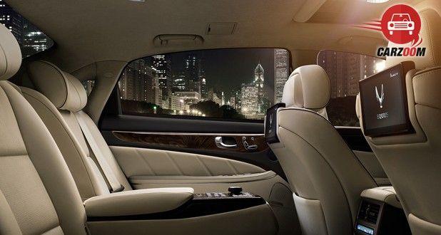 Hyundai Equus Interior Seat View