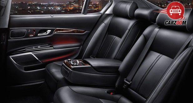 Kia K900 Interior Seat View