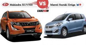 Mahindra XUV500 Vs Maruti Suzuki Ertiga