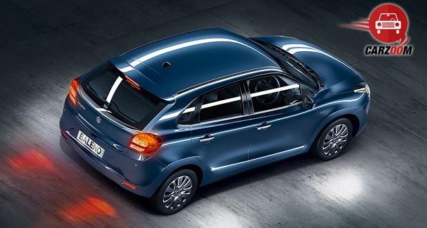 Maruti Suzuki Baleno Back and Top View