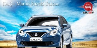 Maruti Suzuki Baleno FAQ
