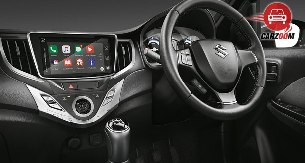 Maruti Suzuki Baleno Interior Dashboard View