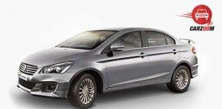 Maruti Suzuki Ciaz RS Exterior Gray Color