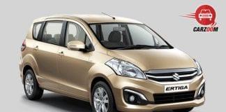 Maruti Suzuki Ertiga Facelift Radient Beige Color