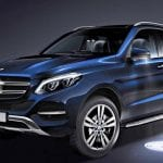 Mercedes-Benz GLE Exterior Front and Side View
