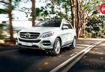 Mercedes-Benz GLE Front View