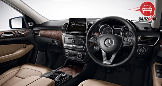 Mercedes-Benz GLE Interior View