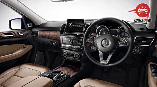 Mercedes-Benz GLE Interior View