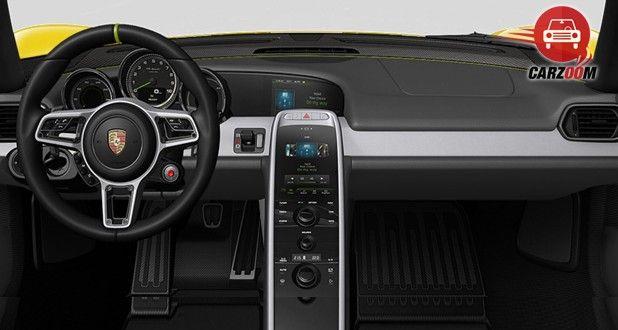 Porsche 918 Spyder Interior Dashboard View